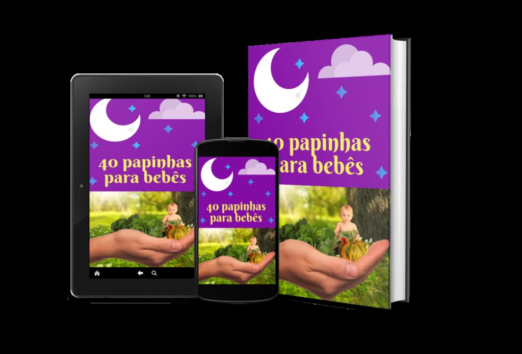 40 papinhas para bebes